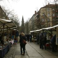 2010年冬、ベルリンの蚤の市