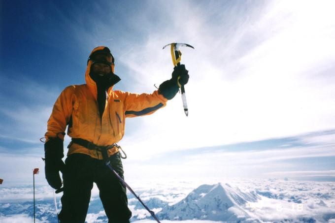 『マッキンリー頂上にて 1999/6/18』ほぼ人に見せた記憶のない貴重なショット