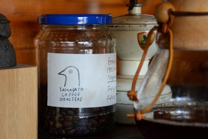 古道具燕では『YAMABATO COFFEE』さんの豆を使ってコーヒーをお入れしています。